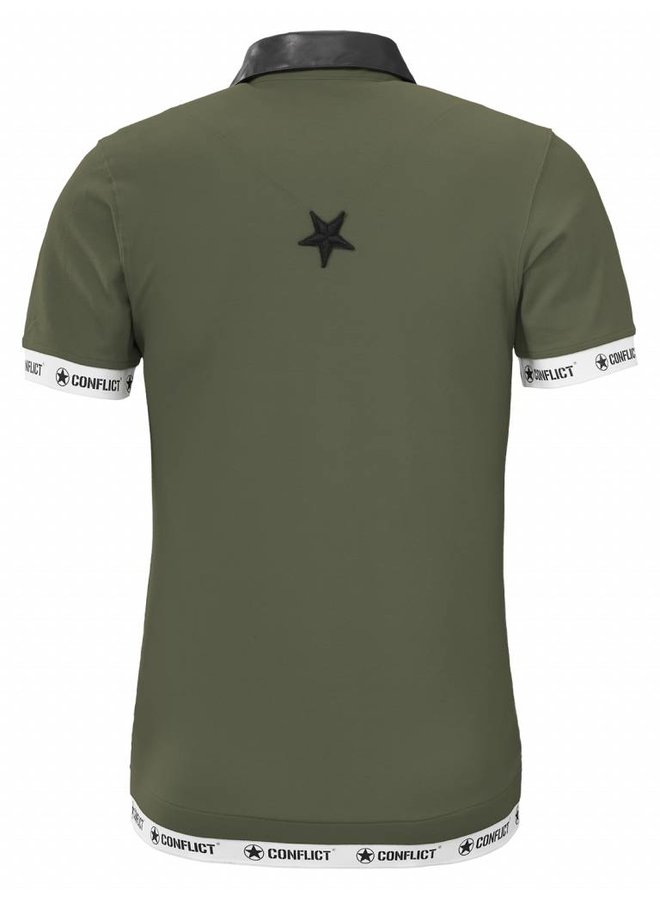 Conflict Polo Leder Armee