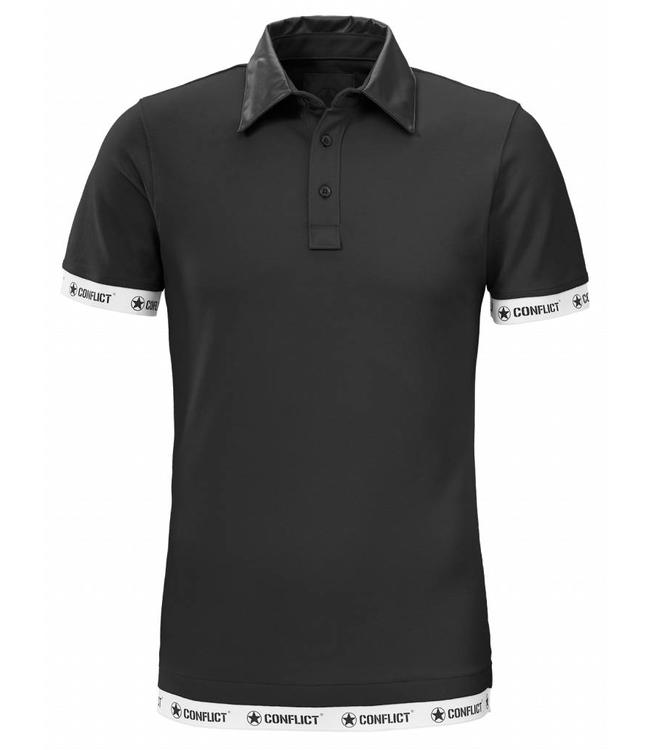 Conflict Conflict Polo Leather Black
