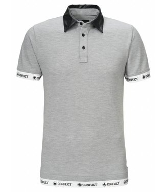 Conflict Conflict Polo Leather Gray