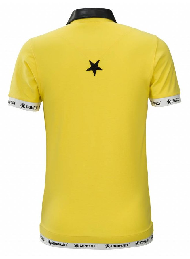 Conflict Polo Leather Yellow