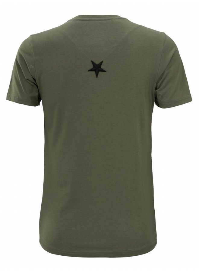 Conflict T-shirt 3D Logo Army