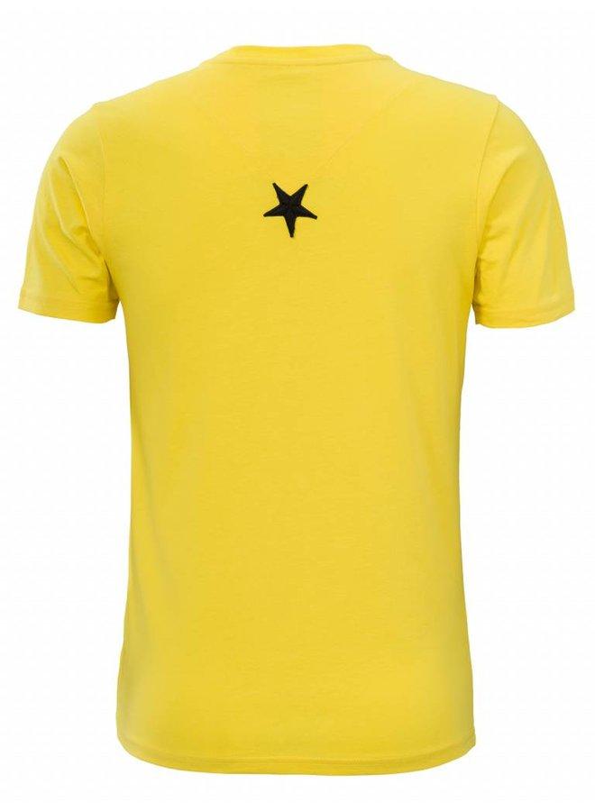 Conflict T-Shirt Logo Gelb