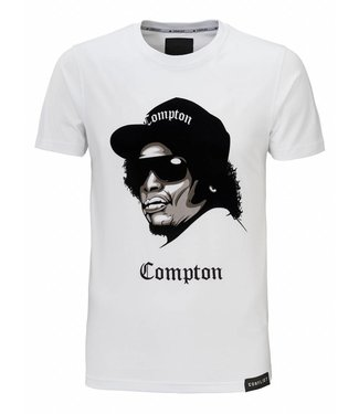 Conflict Conflict T-shirt Compton White
