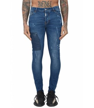 Conflict Conflict Eagle44 Jeans Blue