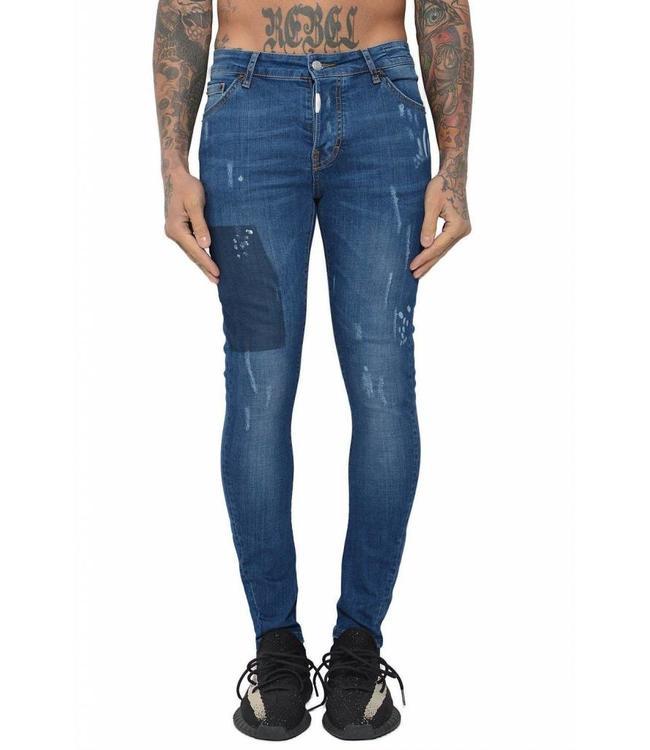 Conflict Conflict Eagle44 Jeans Blue