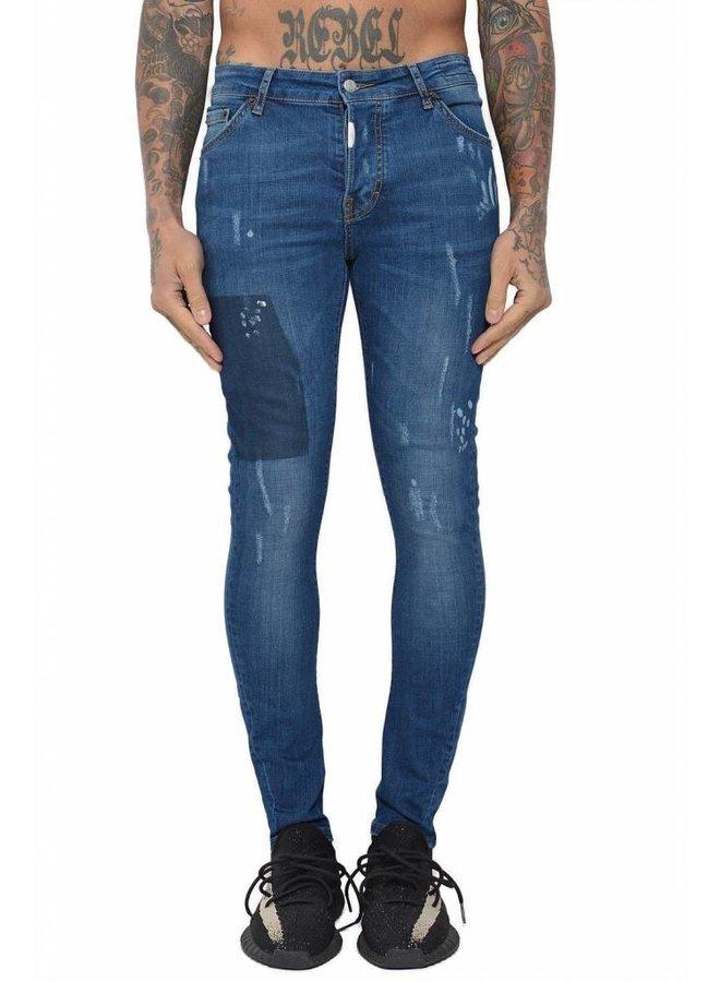Conflict Eagle44 Jeans Blue