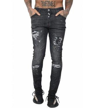 Conflict Conflict Eagle44 Jeans Black - Copy - Copy - Copy