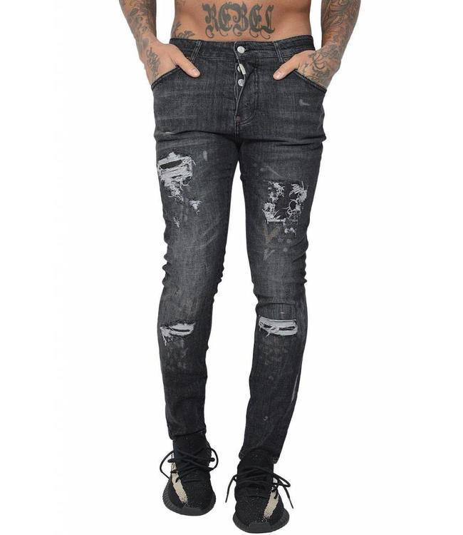 Conflict Conflict Jeans Glock17 Black