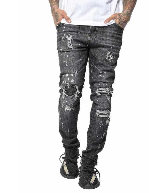 Conflict Conflict AK47 Jeans Black
