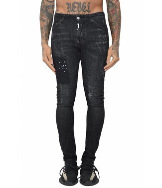 Conflict Conflict Eagle44 Jeans Black