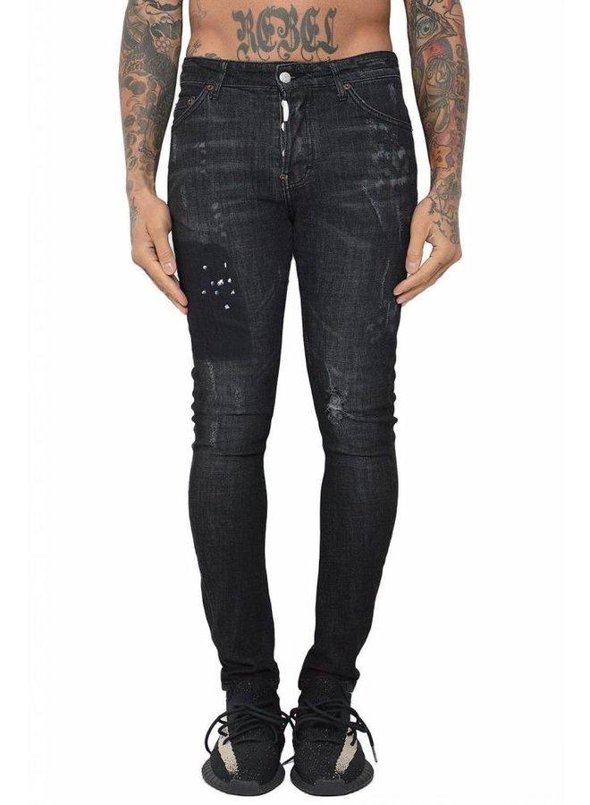 Conflict Eagle44 Jeans Black