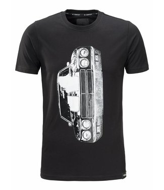 Conflict Conflict T-shirt Mustang Black - Copy