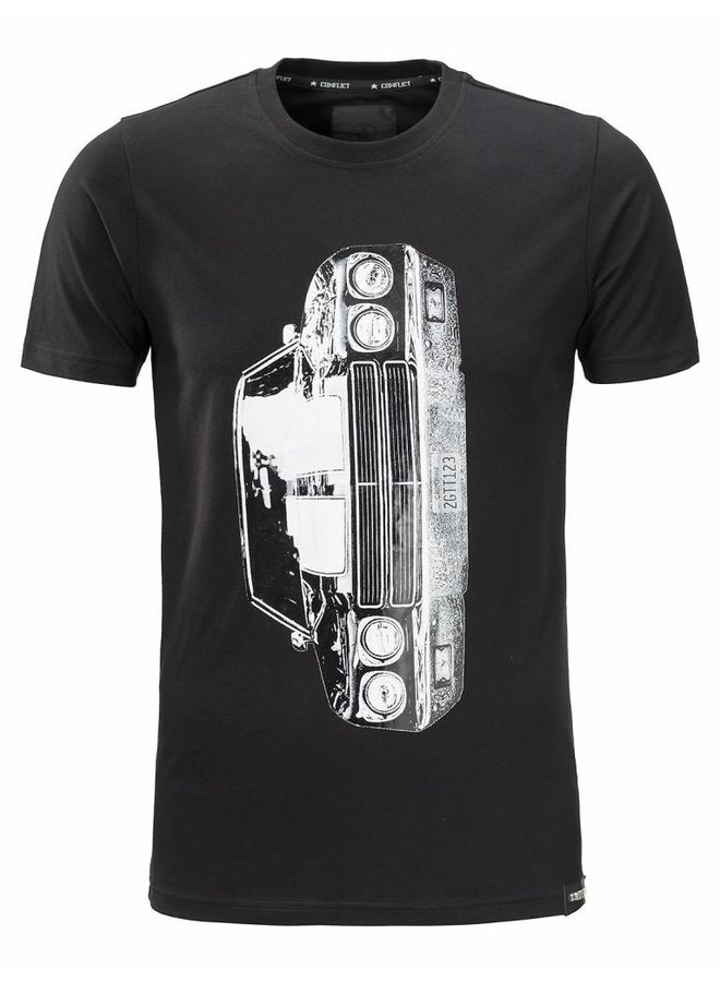 Conflict Chevrolet Schwarzes T-Shirt