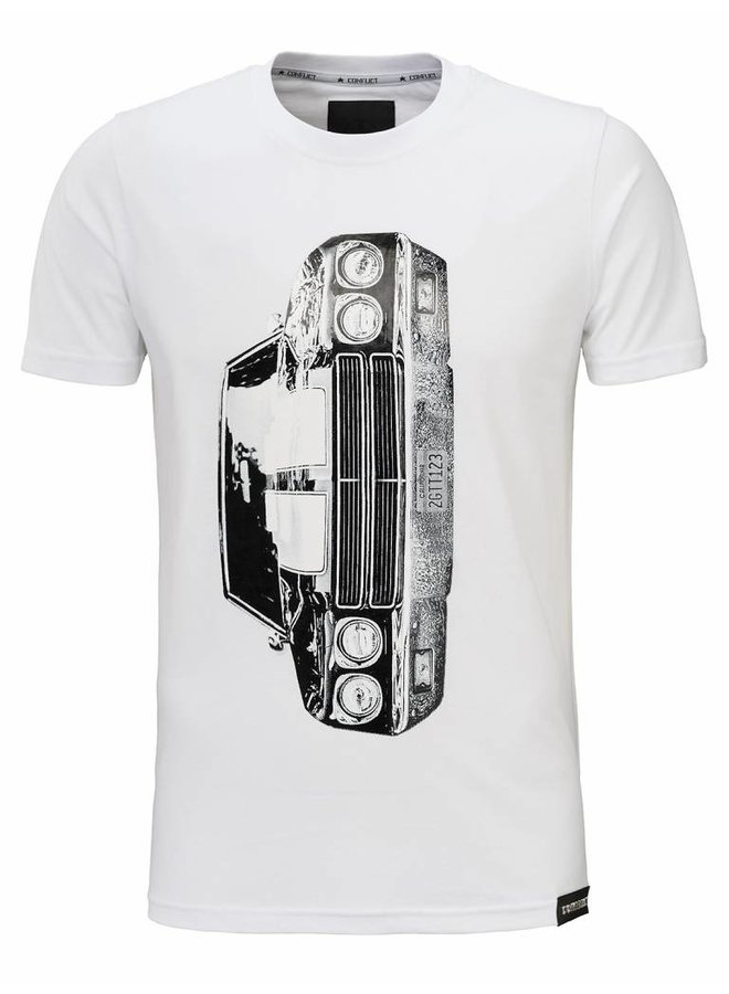 Conflict Chevrolet weißes T-Shirt