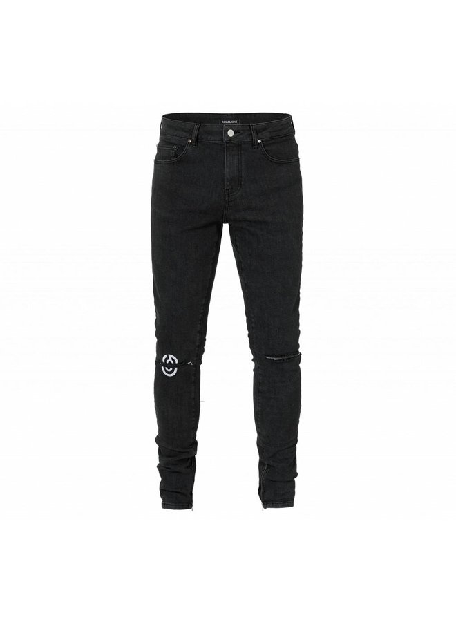 Malelions Jeans Daley - Black