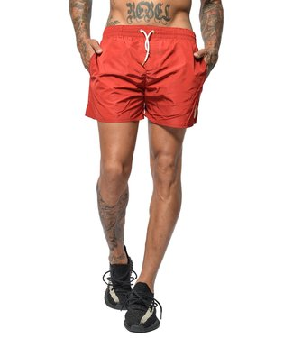 Conflict Conflict Swim Short Beetle Bordeaux