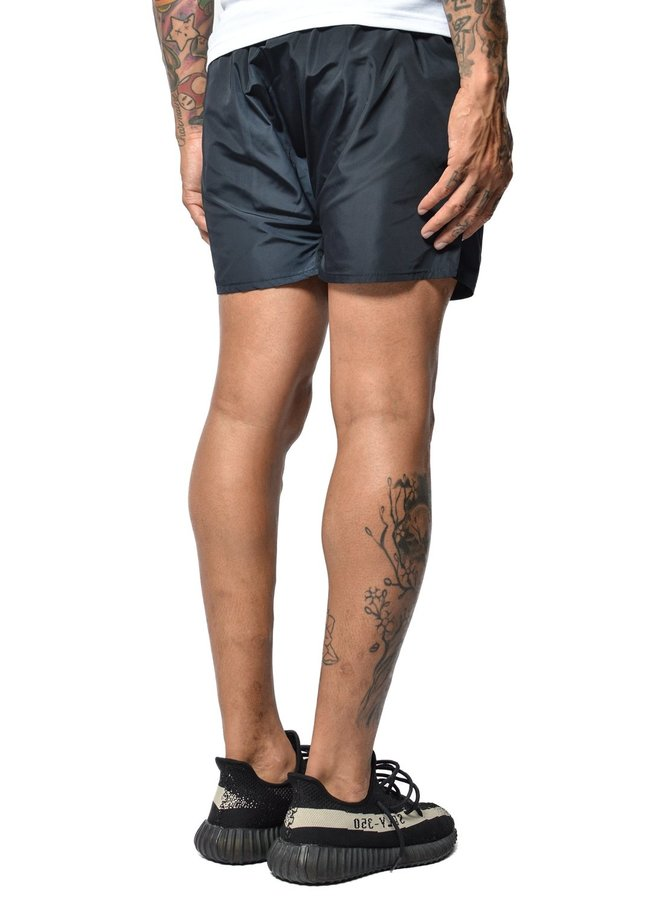 Conflict Swim Short Beetle Black