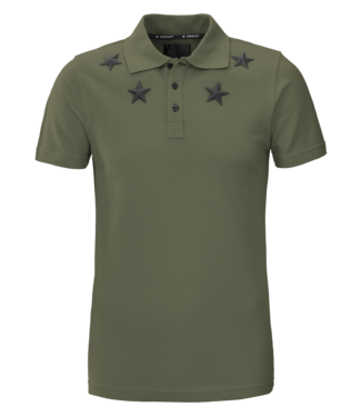 Conflict Conflict Polo Metal Stars Army