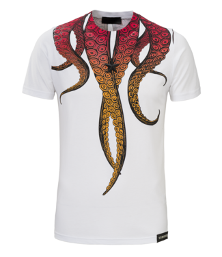 Conflict Conflict T-Shirt Octopus White