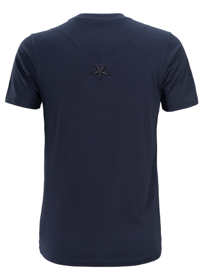 Conflict T-shirt 3D Logo Navy