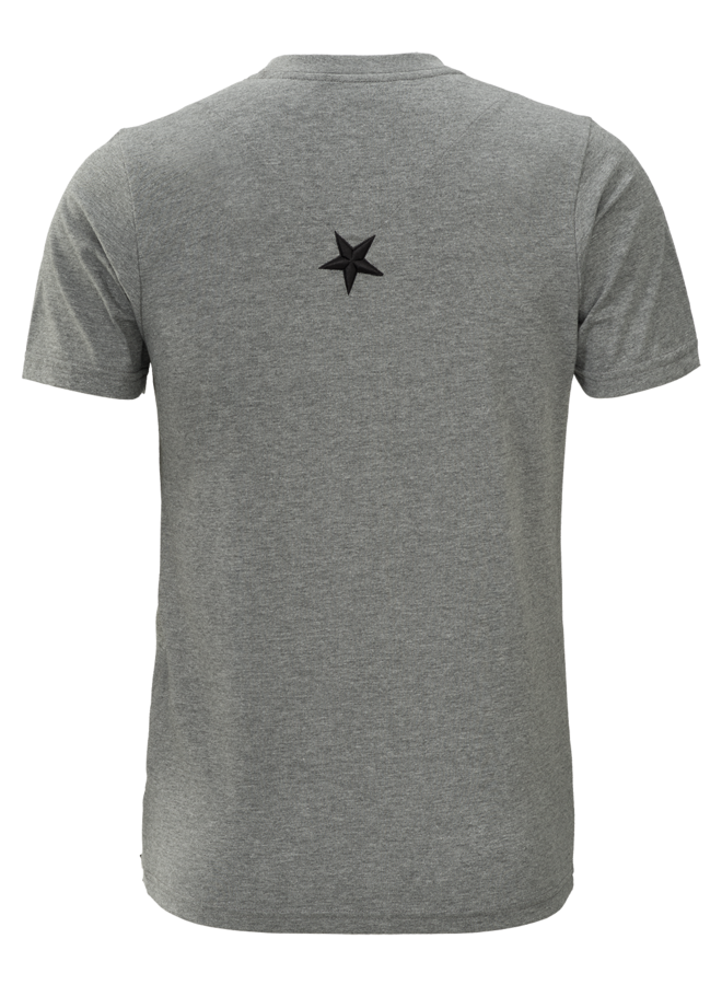 Conflict T-Shirt Samurai Grau