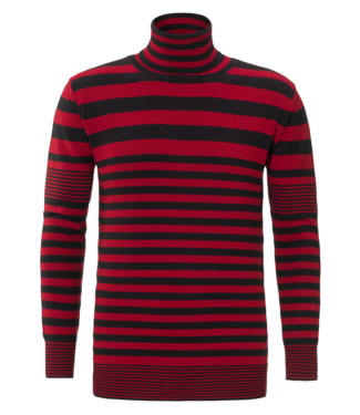 YCLO YCLO Knit Striped Light Red/Black
