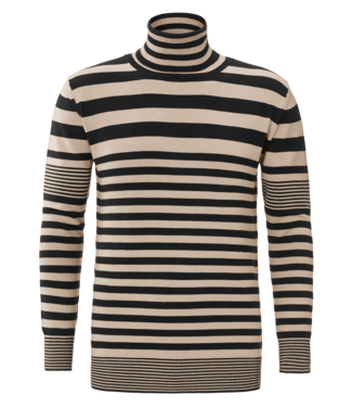 YCLO YCLO Knit Striped Beige/Black
