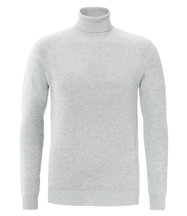 YCLO YCLO Fine Knit Turtle Neck Finn Off White