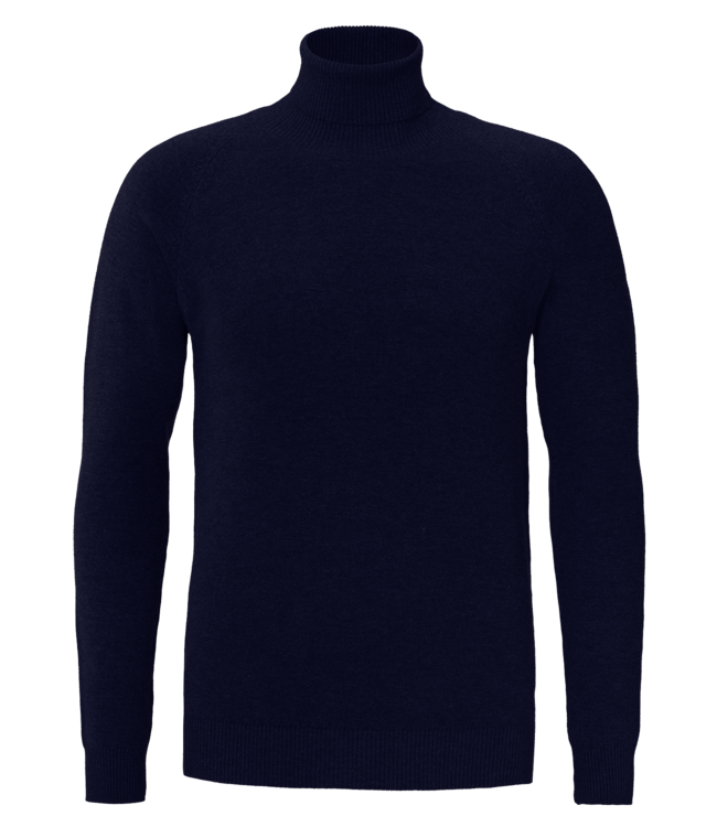 YCLO YCLO Fine Knit Turtle Neck Finn Navy