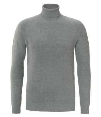 YCLO YCLO Fine Knit Turtle Neck Finn Gray