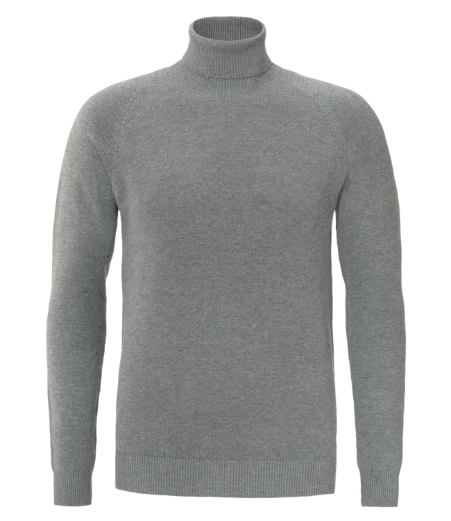 YCLO YCLO Fine Knit Turtle Neck Finn Grey