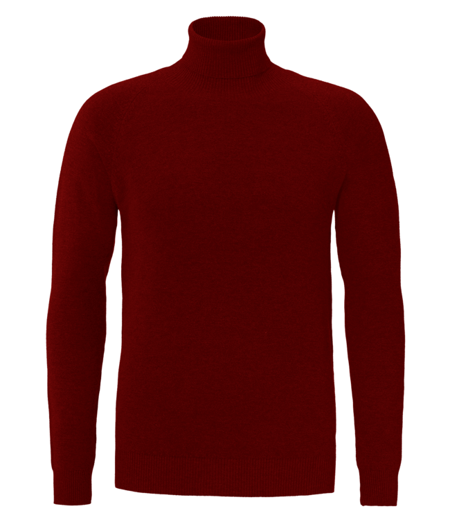 YCLO YCLO Fine Knit Turtle Neck Finn Red