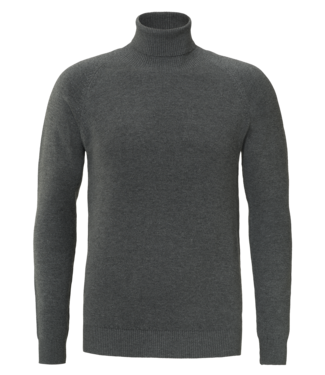 YCLO YCLO Fine Knit Turtle Neck Finn Antra