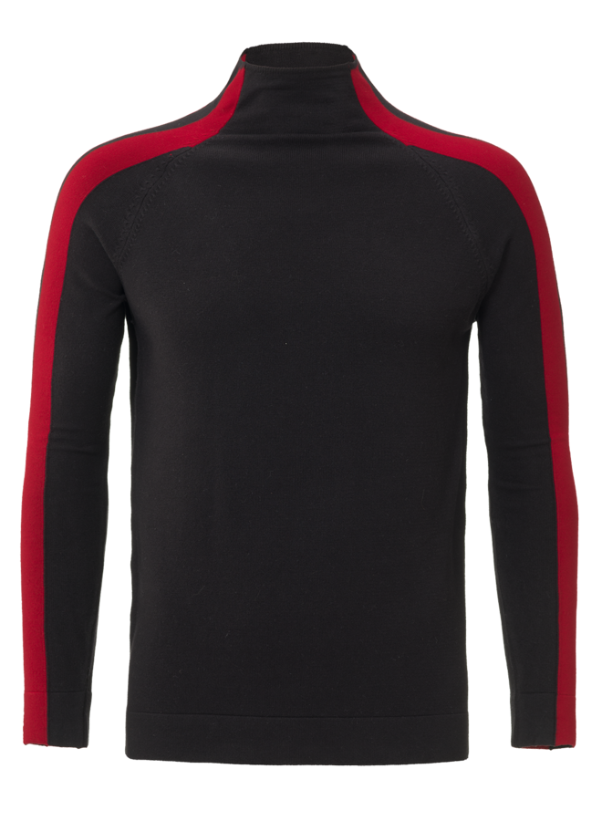 YCLO Knit Cevic Black/Red