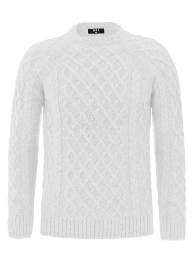 YCLO Strickpullover Almo Off White