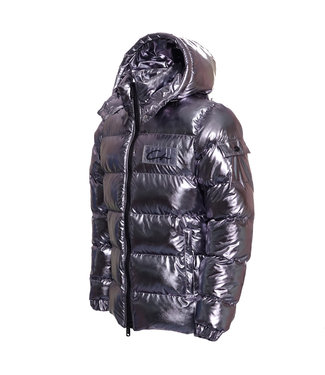 Conflict Conflict Puffer Jacket Silver