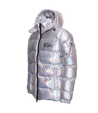 Conflict Conflict Puffer Jacket Hologram