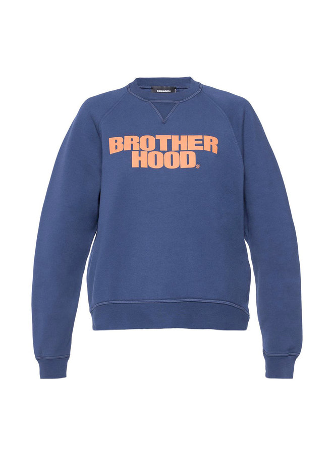 Dsquared2 Sweater Brotherhood Navy