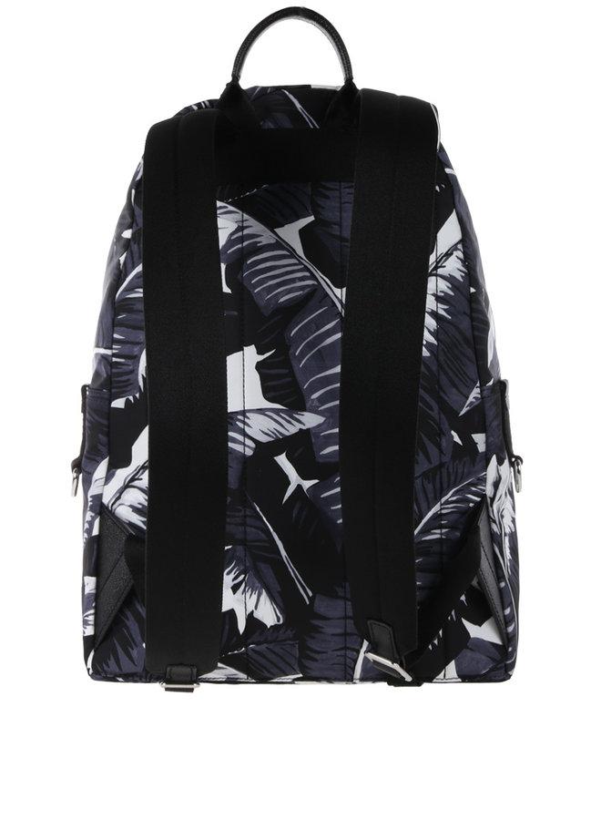 Dolce & Gabbana Rucksack Palm Leafes Schwarz