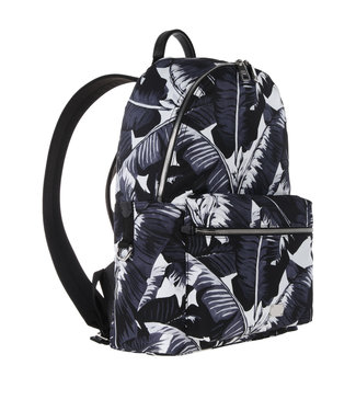 Dolce & Gabbana Dolce & Gabbana Backpack Palm Leafes Black