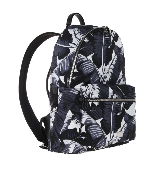 Dolce & Gabbana Dolce & Gabbana Backpack Palm Leafes Black
