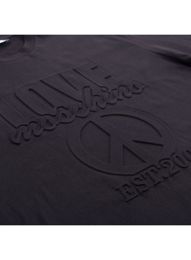 Love Moschino T-Shirt Schwarz