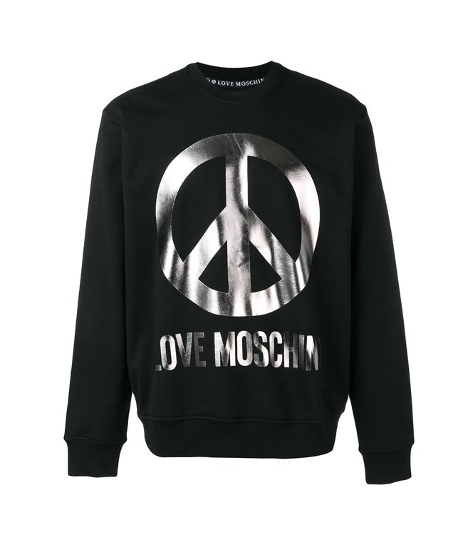 Love Moschino Love Moschino Sweater Logo Black