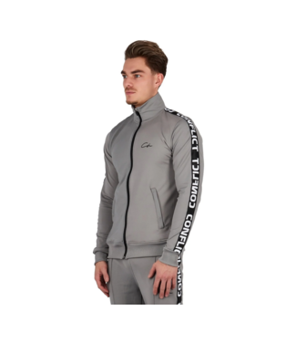 Conflict Conflict Tracksuit Gray / Black