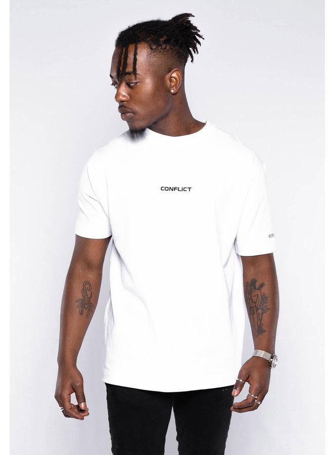 Conflict T-Shirt Essentials Weiß