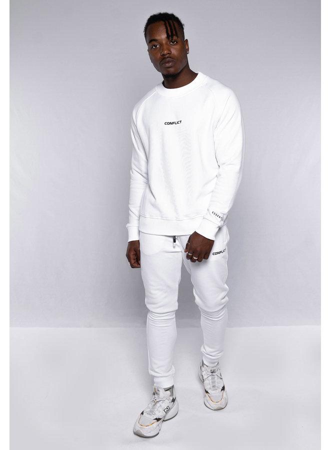 Conflict Raglan Sweater Essentials White