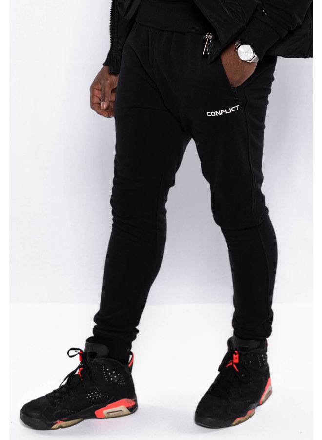Conflict Sweat Pants Essentials Black