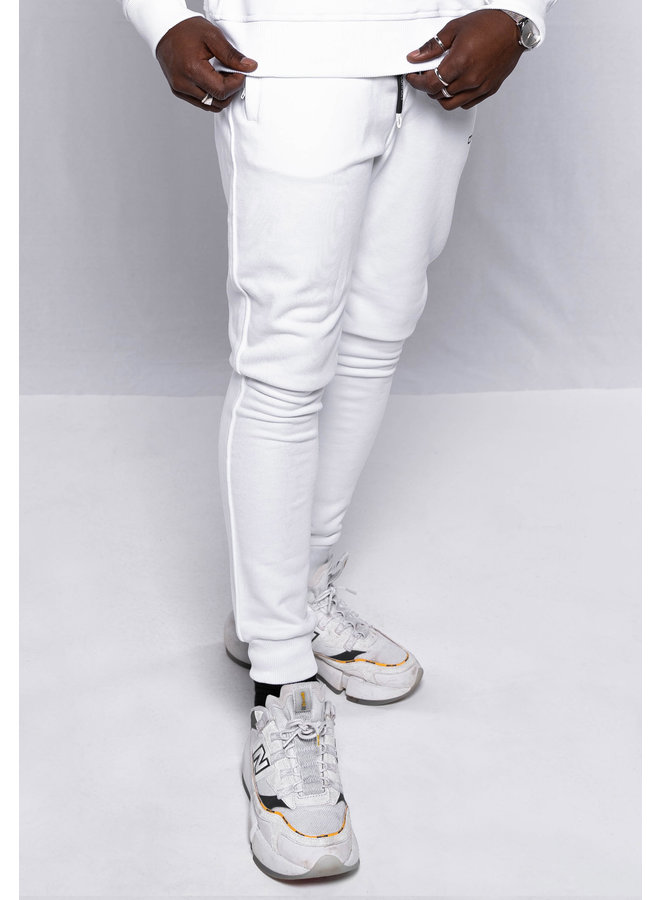 Conflict Sweat Pants Essentials White