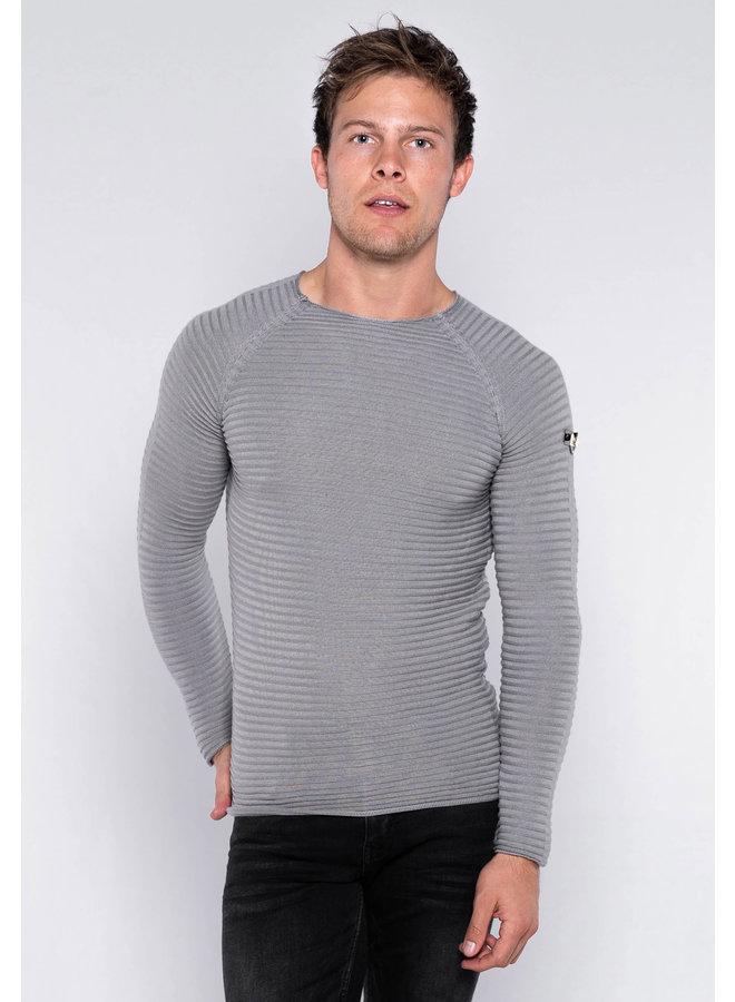 YCLO Knit Bendt Grey