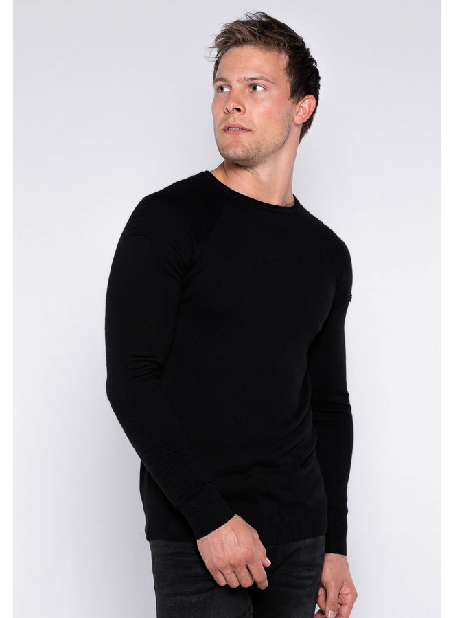 YCLO Knit Jens Black